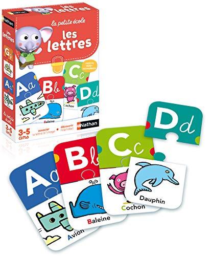 Nathan - Les lettres - Jeu éducatif pour appréhender la lecture et l'écriture dès 3 ans