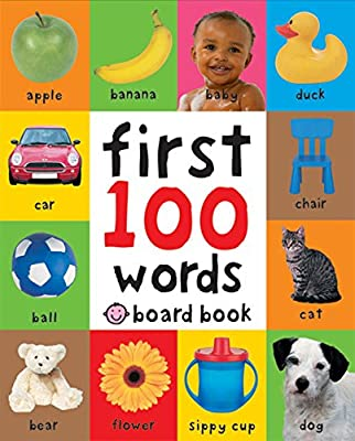 First 100 Words: A Padded Board Book by Priddy Books US