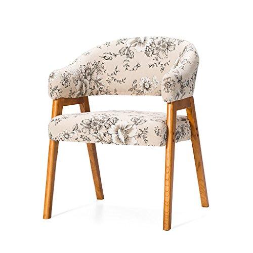 JHDY Sedia da Pranzo Sedia da Salotto Sedia da Lettura Confortevole in Legno Sedia da caffè di Svago (Colore : A1)