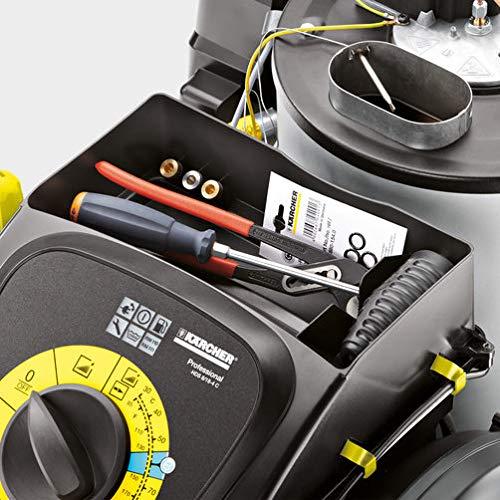 Kärcher Heißw. - Hochdruck. HDS 8/18-4 CX Hochdruckreiniger, grau/schwarz - 3