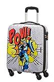 American Tourister Marvel Legends Equipaje- Equipaje de Mano, S (55 cm - 36 L), Mehrfarbig (Captain America Pop Art)
