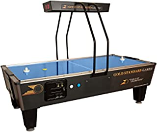 Gold Standard Games Elite Coin Operated Air Hockey Table