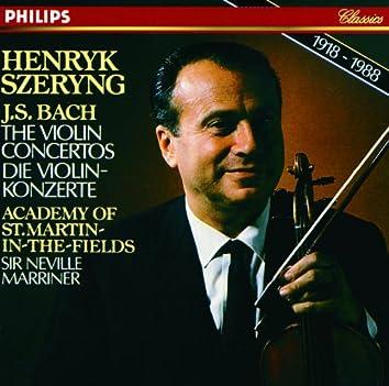 Bach, J.S.: Violin Concertos; Concerto for 2 Violins; Air from Suite No.3