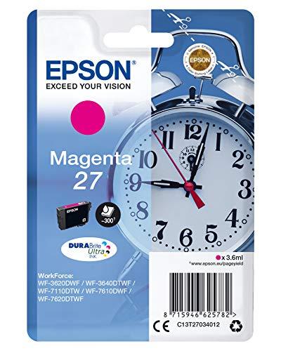 Epson C13T27034022 3.6ml 300pagine Magenta cartuccia d'inchiostro
