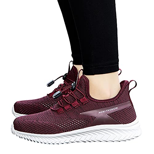 Homme Femme Chaussures De Sport Course Running Mesh Respirantes Confortable Léger Basket Basse Casual Sneakers Walking Outdoor Travail Antidérapante Sneakers