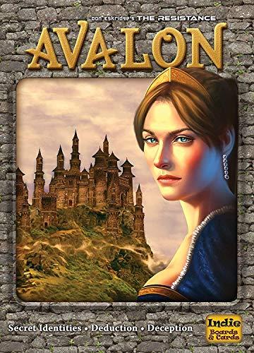 Acen Merchandise The Resistance: Avalon Kartenspiel, interaktives lustiges Brettspiel, Tischspiel für Familienfeier, 5–10 Spieler, Alter 14