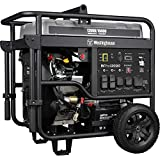 Westinghouse WPro12000 Ultra Duty Industrial Portable Generator - 12000 Rated Watts &...