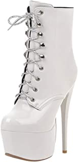 Lydee Mujer Moda Boots Ankle High