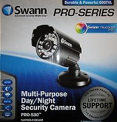 Swann SWPRO-530CAM Pro-530 DayNight 600 TVl Camera (Black)