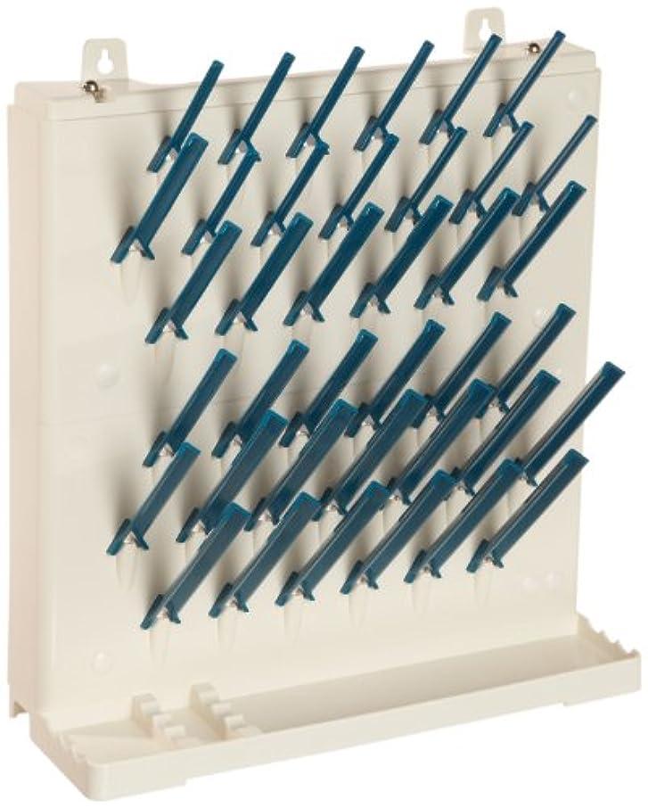 Bel-Art Lab-Aire II Single-Sided Non-Electric Wallmount Glassware Dryer; 2 Tier, 14.75 x 5 x 16.4 in. (F18933-0014)