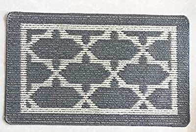 EN'DA Home Entrance Doormat high quality fiber with various pattern Bathroom Doormat 15 by 22.8-Inch
