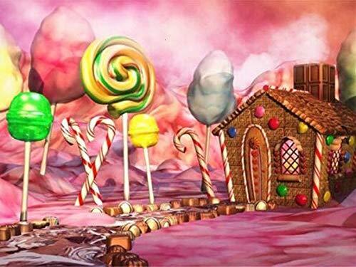 Flor paisaje marino pintura de diamantes mosaico bordado de diamantes casa rosada romántica Kit de diamantes de imitación de punto de cruz A2 40x50cm