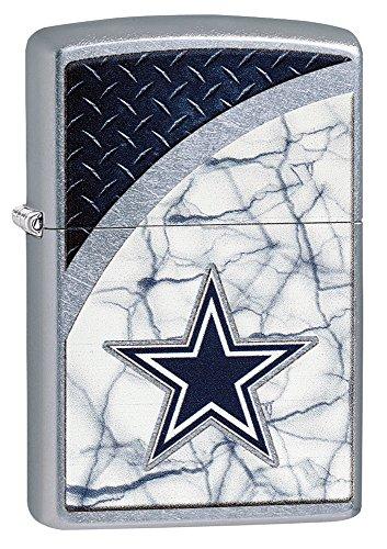 Zippo NFL Dallas Cowboys Street Chrome Pocket Lighter