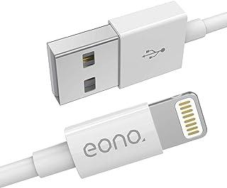 Amazon Brand – Eono Cable Lightning Cable Cargador de iPhone - [Certificado MFi de Apple] 3.3ft/1m Líder de iPhone Cable d...