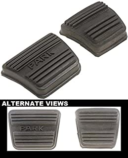 APDTY 31852 Replacement Parking Brake Rubber Pedal Pad Assorment Fits Select 64-06 GM Models (See Vehicle Chart For Fitment; Replaces 3893181, D5UZ 2457-B, 12338071, 12474603, 25506817)