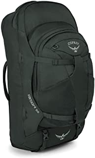 Osprey Packs Farpoint 55 Men's Travel Backpack, Volcanic Grey, Small/Medium