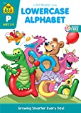 School Zone - Lowercase Alphabet Workbook - Ages 3 to 5, Preschool to Kindergarten, ABC's, Letters, Tracing, Printing, Writing, Manuscript, and More (School Zone Get Ready!™ Book Series)