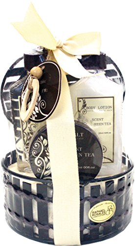 Bella Natura No. 019, Grüner Tee, Beauty & Wellness Geschenkset (4-teilig) von Raphael Rosalee Cosmetics