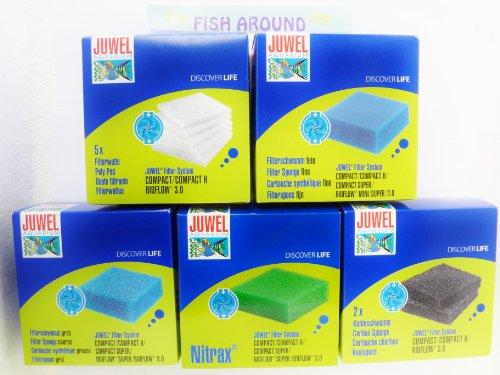 Kompakte Juwel Filter Schwämme 5 Stück