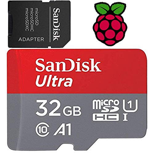 32 GB Raspberry Pi Preloaded (NOOBS) SD Card | 3B + (Plus), 3B, 2, zero compatibile con tutti i modelli Pi