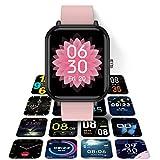 HQPCAHL Smartwatch Reloj Deportivo Pulsera Actividad con...