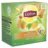 Lipton Grüner Tee Mandarine Orange Pyramidenteebeutel, 36 g