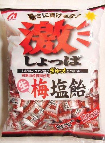 桃太郎製菓 激しょっぱ生梅塩飴 1kg×10袋セット