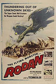 Rodan The Flying Monster POSTER Movie (27 x 40 Inches - 69cm x 102cm) (1956)