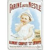 Antic Line - Placa publicitaria de farina lactada nestlé