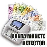 DIVADIS Verifica Banconote Finte con LED UV Rilevatore Documenti di Identit/à e Carte di Credito