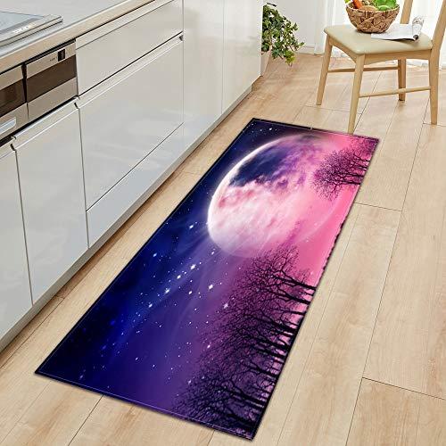 HLXX Kitchen modern home long door mat living room decoration bedroom balcony corridor non-slip bathroom mat A4 40x60cm