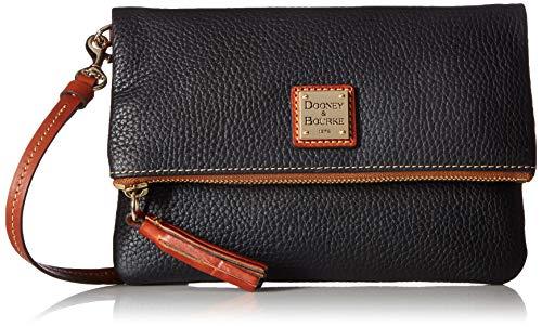 Dooney & Bourke Umhängetasche mit Reißverschluss, Schwarz - Schwarz - Größe: Small