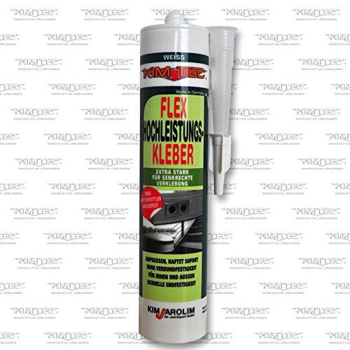 Kim-Tec Flex HK 40 - Colla forte ad un componente a base polimerica, 290 ml, colore: bianco