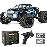 【New Version Hobbyist Grade 1/18 Scale Off-Road Truck】: The 4WD monster truck uses new body to deliver a fun and exciting RC experience with more power and speed than you ever thought possible. Get ready for a whole new level of power, strength, and ...