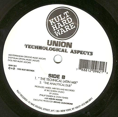 Union - Technological Aspects - Kult Hardware - KHW 001