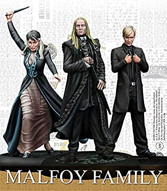 Knight Models HPMAG010 Harry Potter Miniatures Adventure Game: Malfoy Family Expansion Pack, Mixed Colours