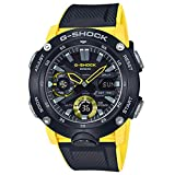 G-Shock by Casio Men's Analog-Digital GA2000-1A9 Watch Black Yellow