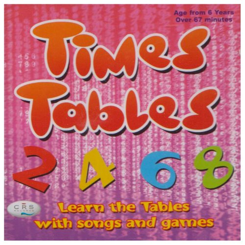 Times Tables CD Learn the Tables with Songs and Games