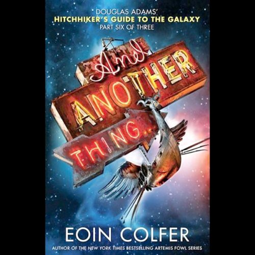 And Another Thing... audiobook cover art
