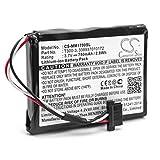 vhbw Batterie Remplacement pour Magellan 338937010172, T300-3 pour système de Navigation GPS (750mAh, 3,7V, Li-ION)