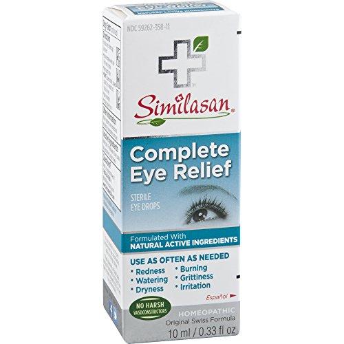 Similasan Complete Eye Relief Eye Drops 0.33 Ounce Bottle,...