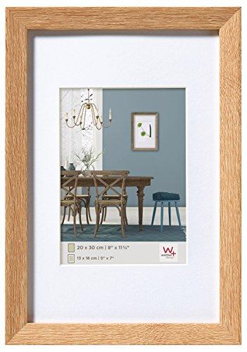 walther design EF060E Fiorito Holzrahmen 50x60 cm, eiche hell