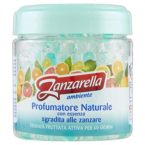 Zanzarella, Profumatore per Ambienti Antizanzare in Perle con Essenza Fruttata, Repellente Naturale...