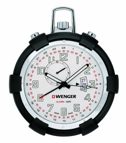 Wenger Men's Watch 73010 With Traveler Pocket Alarm