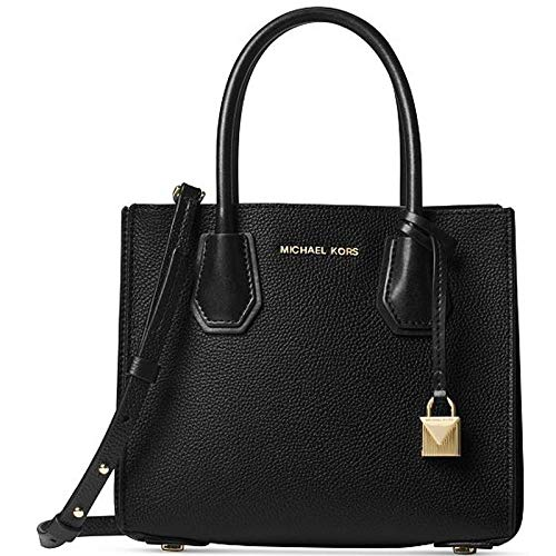 "Main compartment,interior zip and slip pockets Open top Logo plaque at front Decorative tassel with charm Adjustable Strap: 22.25""-24.5"""