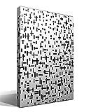 Cuadro Canvas Composición en línea Segundo Estado de Piet Mondrian