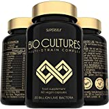 Probiotics Bio Cultures Complex - 20 Billion CFU & 15 Live Strains