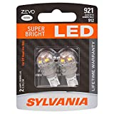 SYLVANIA 921LED.BP2 ZEVO T-16 W16W White LED Bulb, (Contains 2...