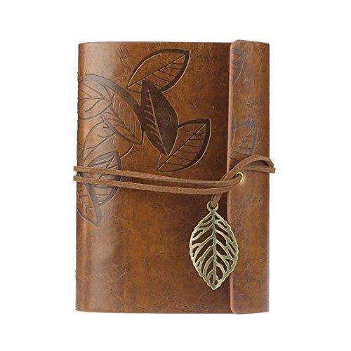 IIOOII retro blad, lederen, cover, boek, leeg, notitieboek, tijdschrift, dagboek dagboek, bruin