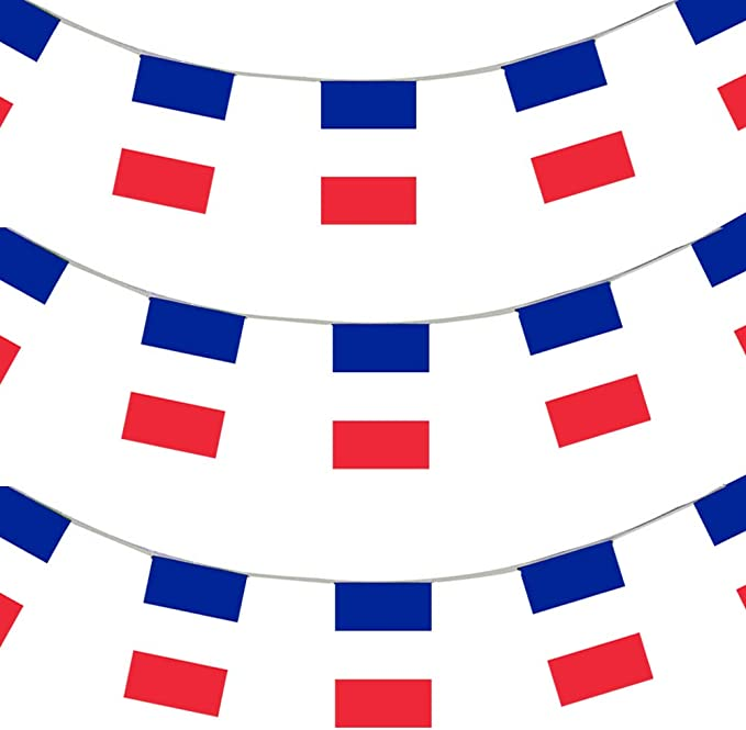 Tour de France Bunting 10 meter Length Flag Winning Jersey Colour 2018 French